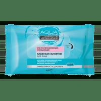 Aqua Active - Влажные салфетки УльтраУвлажняющие очищающие