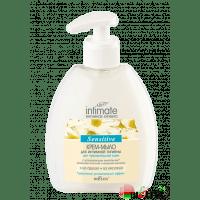 Intimate - Крем-мыло для интимной гигиены для чувствительной кожи Sensitive