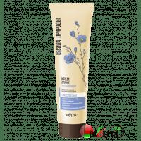 СИЛА ПРИРОДЫ с маслом льна - Регенерирующий крем для ног с маслом льна для сухой кожи стоп и потрескавшихся пяток