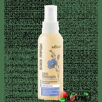 СИЛА ПРИРОДЫ с маслом льна - Cпрей-термозащита с маслом льна для поврежденных волос с антистатическим эффектом несмываемый