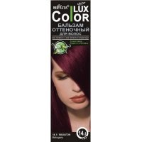 """Оттеночный бальзам для волос """"COLOR LUX"""" тон 14.1"""
