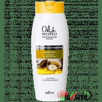 Oil Naturals - Шампунь с маслами АРГАНЫ и ЖОЖОБА Укрепление и Восстановление