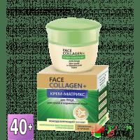 FACE & HAIR Collagen+ - Крем-матрикс для лица для сухой и нормальной кожи 40+