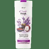 Exotic Fresh - Крем-гель для душа Мангостин и Лаванда