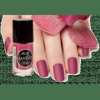 Luxury - Лаки для ногтей Luxury Matt Effect