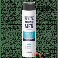 BELITA YOUNG MEN - Белита Шампунь для волос и бороды Чистота и свежесть горных ледников