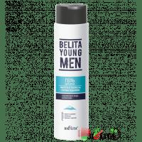 BELITA YOUNG MEN - Гель для душа Чистота и свежесть горных ледников