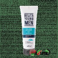 BELITA YOUNG MEN - Гель-скраб 2 в 1 для очищения против черных точек и врастания щетины