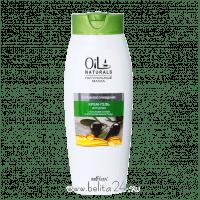 Oil Naturals - Крем-гель для душа с маслами ОЛИВЫ и КОСТОЧЕК ВИНОГРАДА Бережное очищение