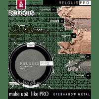 RELOUIS - PRO EYESHADOW METAL - ТЕНИ ДЛЯ ВЕК