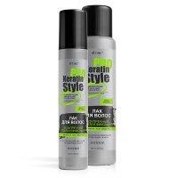 KERATIN PRO Style - Лак для волос Безупречный объем и фиксация