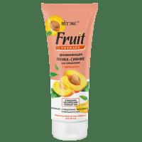 Fruit Therapy для лица - Увлажняющая пенка-сияние для умывания с абрикосом