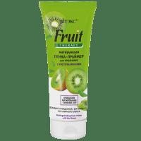 Fruit Therapy для лица - Матирующая пенка-праймер для умывания с косточками киви