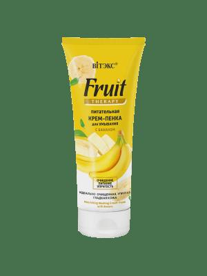 Fruit Therapy для лица - Питательная крем-пенка для умывания с бананом