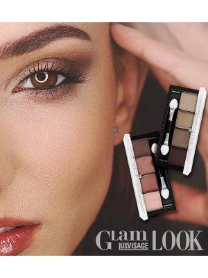 LUXVISAGE - Тени для век Glam Look