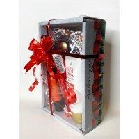 Подарочный набор Красный - Розы 4 продукта