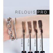 RELOUIS PRO - Гель для бровей водостойкий оттеночный RELOUIS PRO Waterproof Color Brow Gel