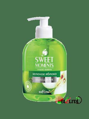"SWEET MOMENTS - Жидкое мыло SWEET MOMENTS ""Зеленое яблоко"""