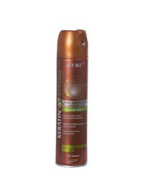 Keratin Styling - ЛАК для волос невесомый с жидким кератином суперсильной фиксации