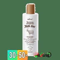 Milk Line / Протеины молодости - Тоник для лица МЯГКОЕ ТОНИЗИРОВАНИЕ для всех типов кожи