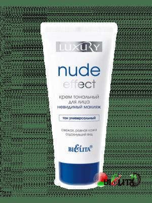 Luxury - Крем тональный для лица NUDE Effect «невидимый» макияж