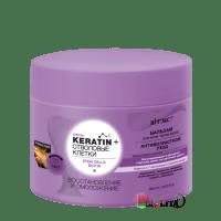 Keratin+ СТВОЛОВЫЕ клетки и биотин БАЛЬЗАМ для всех типов волос Восстановление и омоложение