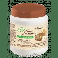 Кефирно-молочный уход - БАЛЬЗАМ для волос «Пивные дрожжи» Блеск + энергия
