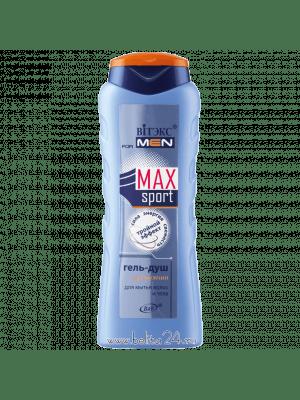 MAXsport - Гель-душ для мытья волос и тела для мужчин «Тройной эффект»