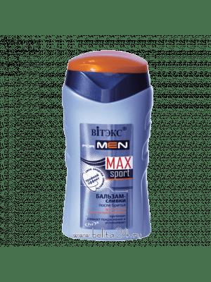 MAXsport - Бальзам-сливки после бритья для сухой и чувствительной кожи