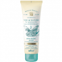 YOU & NATURE - Крем-пилинг мягкий для чувствительной кожи лица