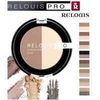 "RELOUIS PRO - Тени для век ""EYESHADOW DUO"""