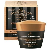 12 Premium Peptides - Пептидный Крем-Prestige для лица и шеи с УСИЛЕННЫМ ЛИФТИНГОВЫМ ДЕЙСТВИЕМ, 24ч