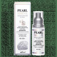 Жемчужная кожа - Липосомальный крем-сыворотка для лица дневной «Антигравитационная подтяжка» Pearl shine -  45-50+