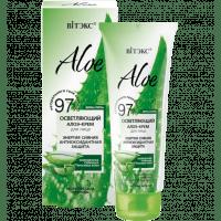 ALOE 97% - Осветляющий алоэ-крем для лица «Энергия сияния. Антиоксидантная защита»