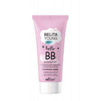 BELITA YOUNG SKIN - ВВ-хайлайтер с тонирующим эффектом для молодой кожи «Безупречное сияние»