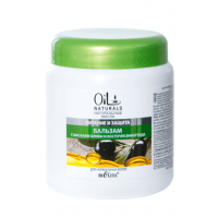 Oil Naturals - Бальзам с маслами ОЛИВЫ и КОСТОЧЕК ВИНОГРАДА Питание и Защита