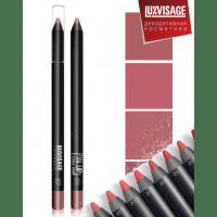 LUXVISAGE - PIN UP ULTRA MATT - Профессиональный водостойкий ультраматовый карандаш-помада